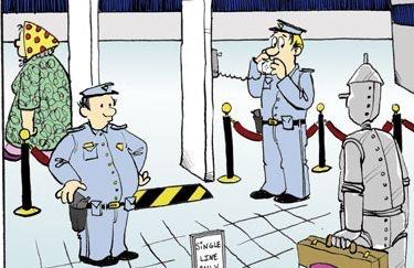 Controles aeropuertos