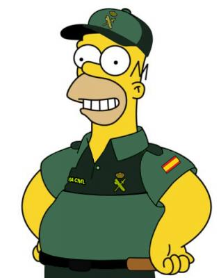 Homer-Guardia-Civil
