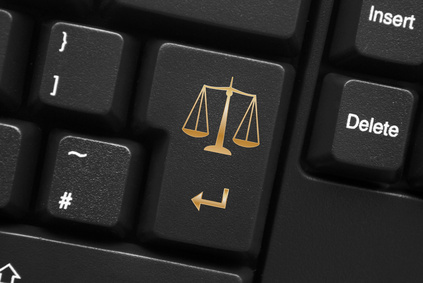 """""""Scales of Justice"""" Key on Keyboard"""
